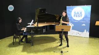 ELLIE McMURRAY – ELIMINATORY ROUND – I ANDORRA INTERNATIONAL SAXOPHONE COMPETITION 2014