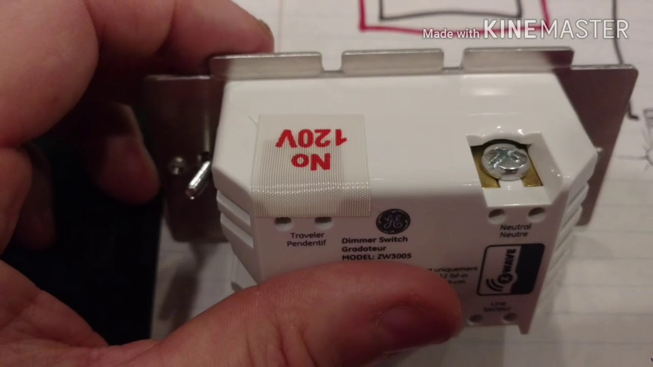 Replace 4way circuit with GE smart switches YouTube