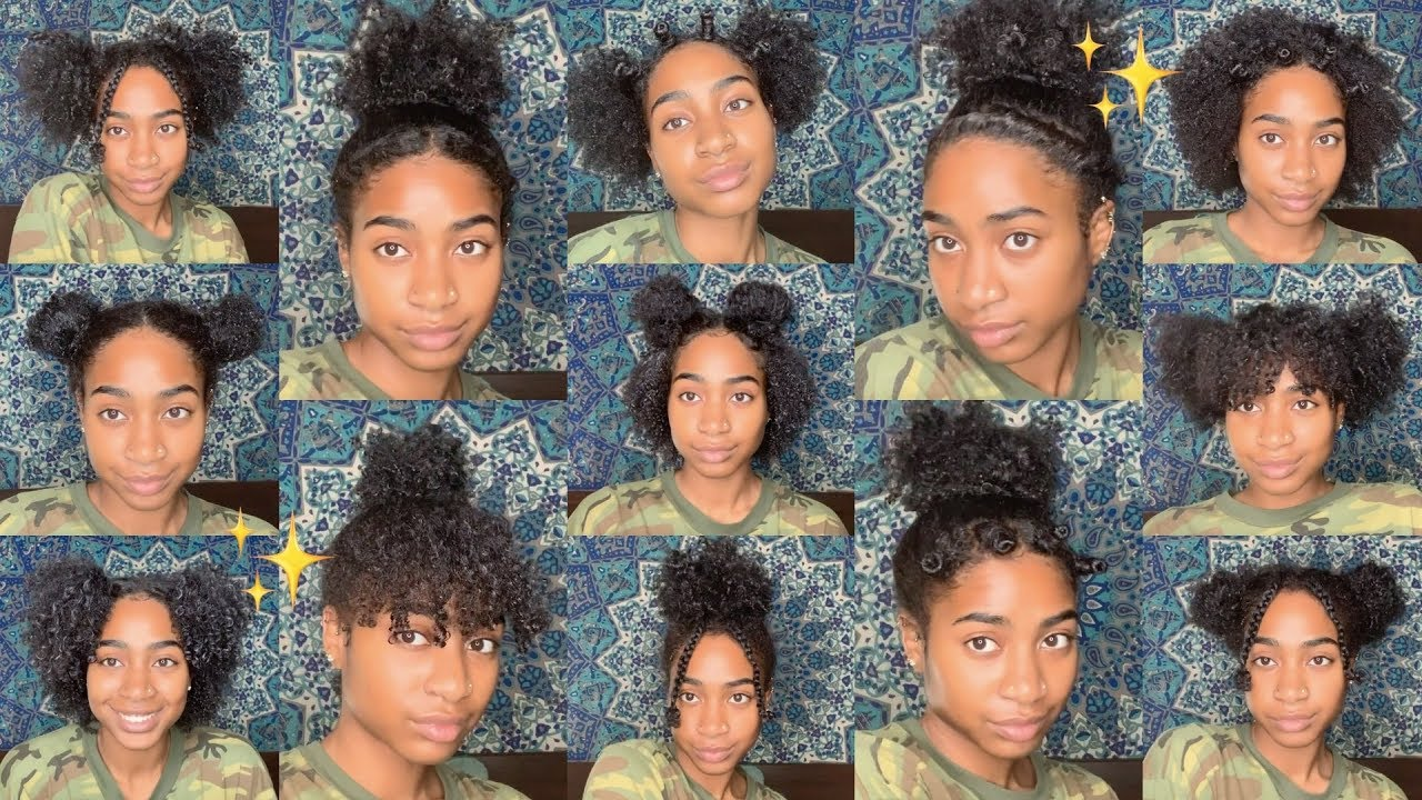 13 low manipulation natural hairstyles   easy & lazy wash and go hairstyles