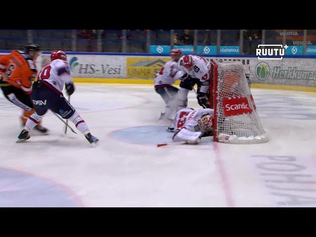 HIFK:n maalivahdille oli käydä käsittämätön lipsahdus – videotuomari pelasti pälkähästä
