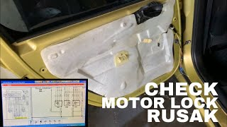 How Power door Lock Work - PEUGEOT 307