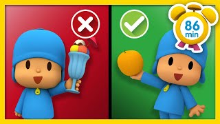 🦸‍♂️POCOYO in ENGLISH - Healthy Habits for kids [ 86 minutes ] | Full Episodes |VIDEOS and CARTOONS