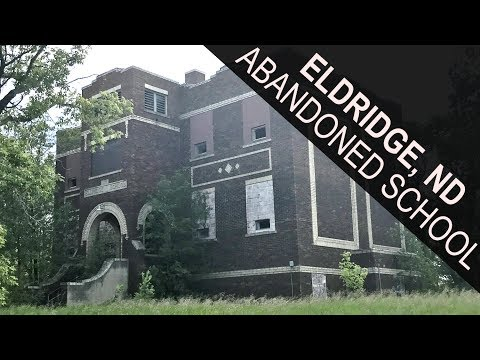 Creepy Abandoned School House | Eldridge, ND