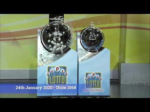 Super Lotto Draw 1068 01242020