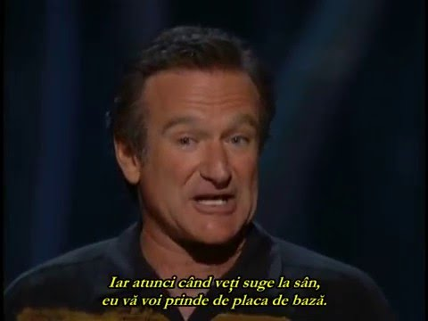 ROBIN WILLIAMS Live On Broadway (New York 2002) - TRADUCERE ROMANA