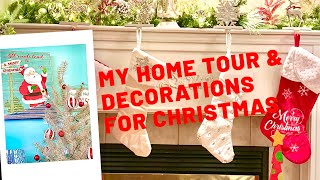 My Christmas Home Tour & Decorations 2019  Canada Vlog  கனடா கிறிஸ்துமஸ்   Tamil Christmas Vlog
