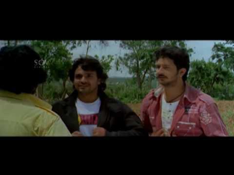 Vijay Ragavendra asks for lift | Kannada Comedy Scenes | Mast Maja Maadi Kannada Movie  | Komal
