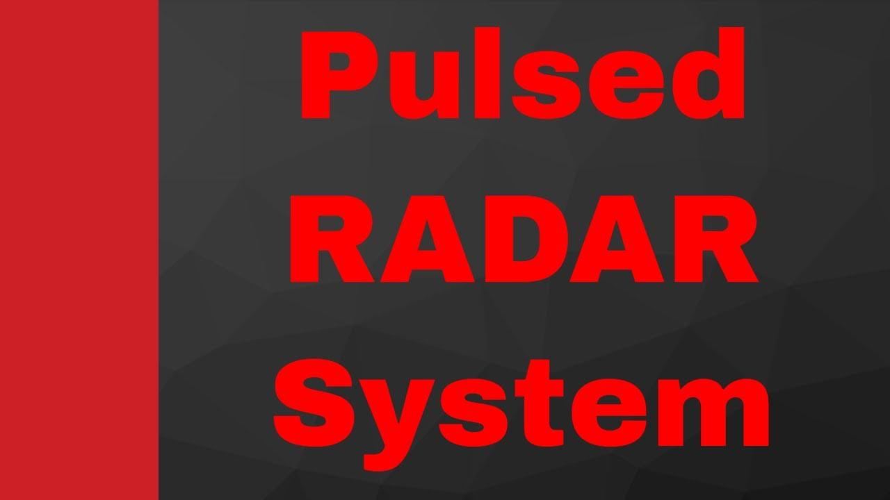 Pulsed RADAR system by Engineering Funda (Microwave Engineering, RADAR  Engineering, Microwave, RADAR