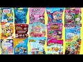 Blind Bags Unboxing Surprise Toys Opening Hello Kitty LOL MLP Shopkins Minions Thomas Kids Fun