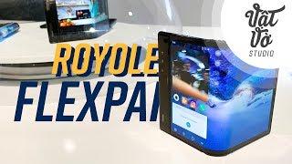 Trên tay smartphone màn hình gập Royole Flexpai - Siêu dị!!!