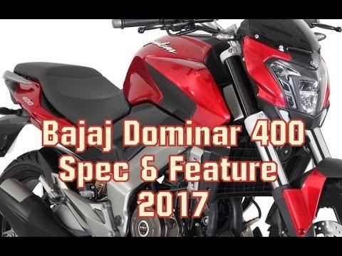 Bajaj Dominar 400 Price, Specification 2017 / A.V.TUTuber