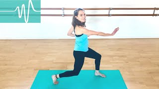 Lunge Safely During Pregnancy  | Powerful Pregnancy | Jane Wake