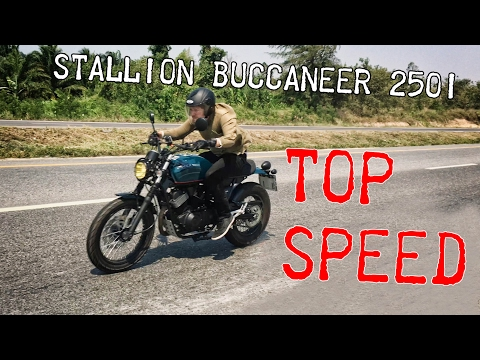 Stallion Buccaneer 250i top speed