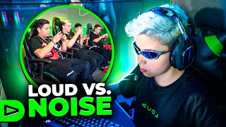 "4V4 ""LOUD vs. NOISE"" PRESENCIAL NA ARENA!! FREE FIRE"