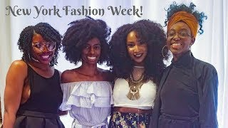 PrettyLittleFro at New York Fashion Week!