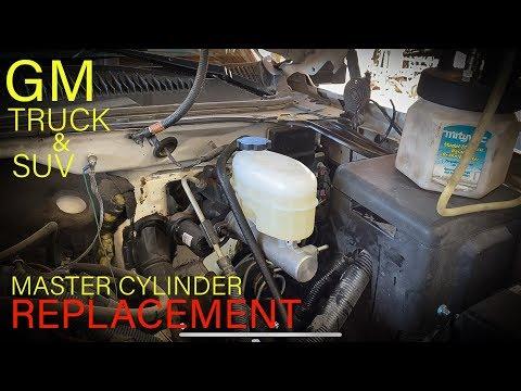 Gm Truck & SUV Master Cylinder Replacement (Brake Bleeding Tips)