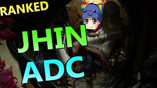 How To Play Jhin ADC - League of Legends Ranked Gameplay Commentary
