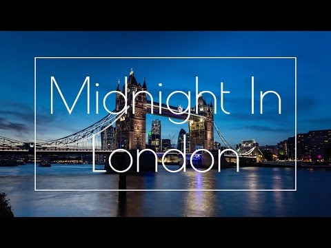 Midnight In London - Lights of the City