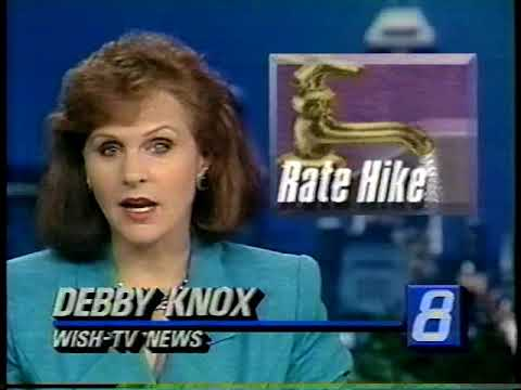 June 11, 1991 - Debby Knox & Ken Owen Anchor Indianapolis Late Newscast