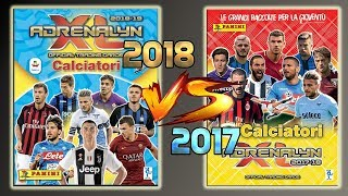 ⚽ Adrenalyn 2018 vs Adrenalyn 2017. CHI VINCE?