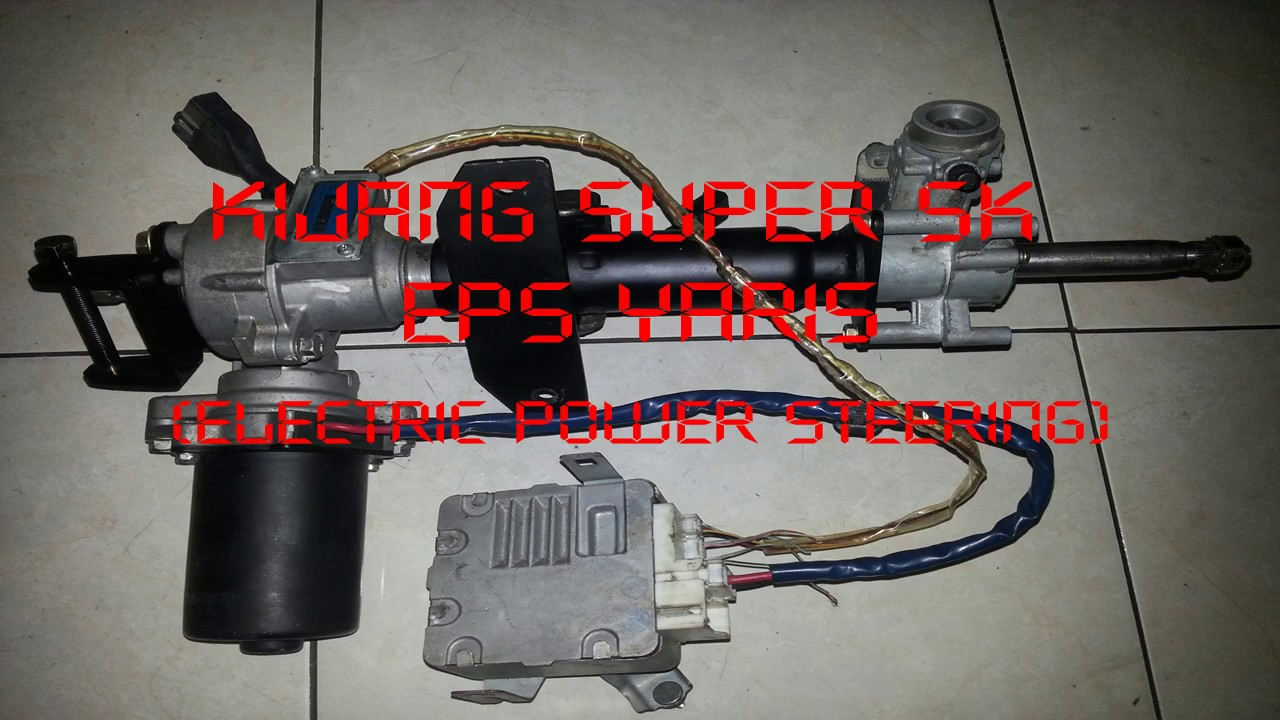 hight resolution of toyota kijang super 5k eps yaris electric power steering