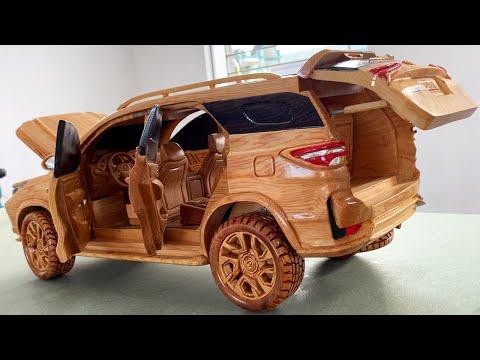 Wood Carving - Toyota Fortuner Legender 2021 - Woodworking Art