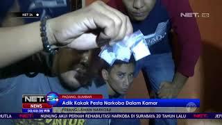 Polisi Gerebek Rumah Bandar Sabu Saat Sedang Pesta Sabu di Kamar - NET24