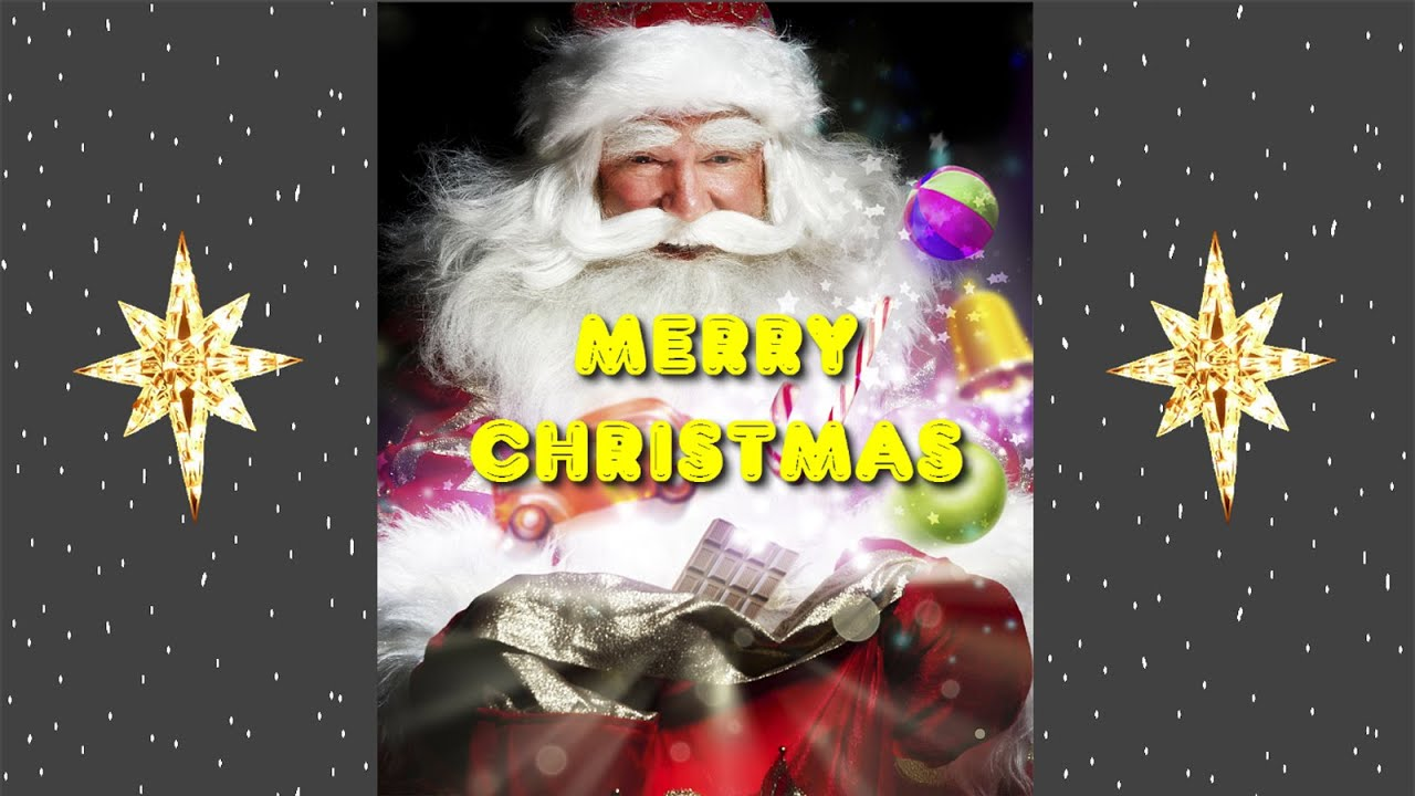 Photo Merry Christmas Cards Online - YouTube