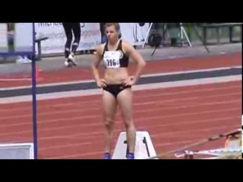 Deutsche U23 Meisterschaften  Göttingen - 400m women - Finale - Christina Hering 53,60 sec