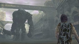 Shadow of the Colossus: Argus Boss Fight - 15th Colossus (PS3 1080p)