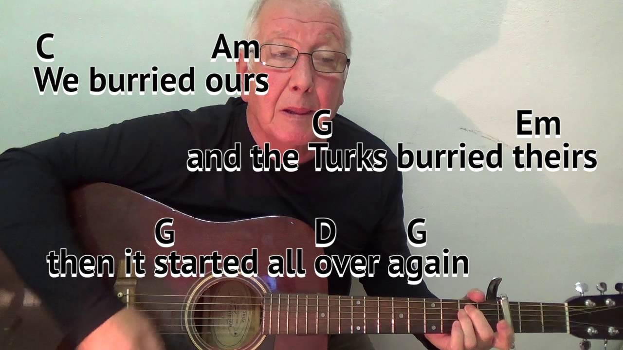 Eric Bogle – And the Band Played Waltzing Matilda Lyrics ...