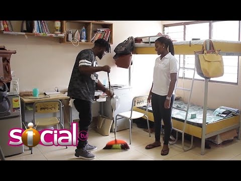Asking Lord Paper To Sweep 25 Rooms At University Of Ghana- THE DARE