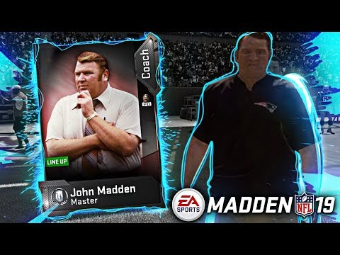 WE GOT JOHN MADDEN COACH! SECRET CHEMISTRY AND BOOSTS REVEALED! Madden 19 Ultimate Team