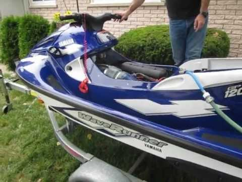 yamaha gp1200 waverunner first start in 12 years youtube. Black Bedroom Furniture Sets. Home Design Ideas