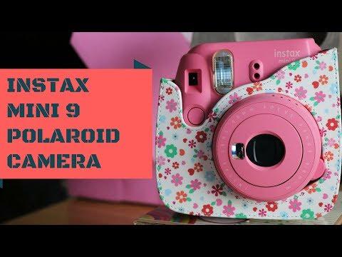 Instax Mini 9 Instant Polaroid Camera + Accessories Detailed First look