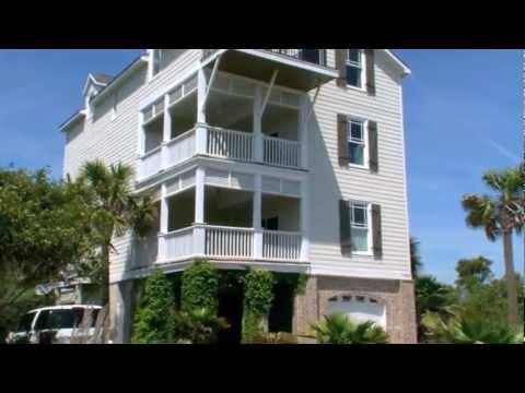 Charleston Real Estate Video: 1008 W Ashley Ave., Folly Beach SC 29439