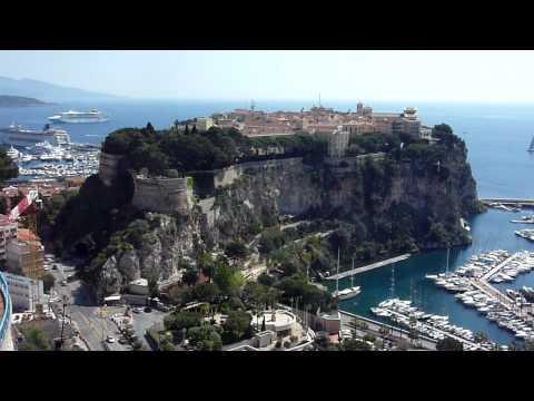Monaco's old town from Moneghetti