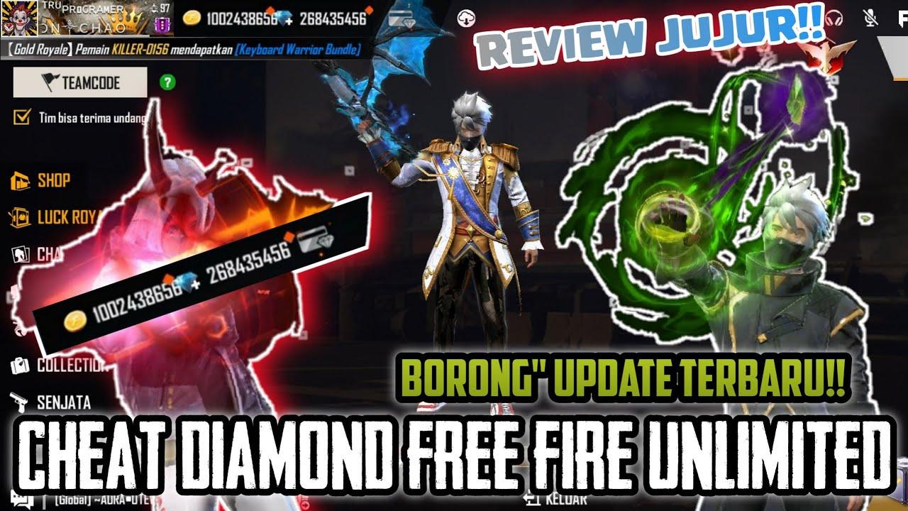 CHEAT DIAMOND FREE FIRE UNLIMITED JUNI 2021 !!! BORONG SEMUA NEW UPDATE ( REVIEW JUJUR )!! PART - 7