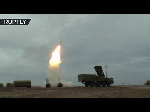 RAW: New anti-aircraft S-400 systems tested in Russia