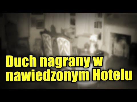 Kamera umieszczona w Hotelu zarejestrowała dziwną anomalię