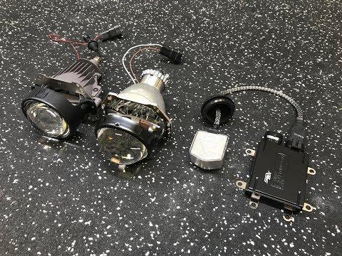 I.Lens Bi-LED Projector Vs Morimoto D2S 4.0 Bixenon Projector Comparison