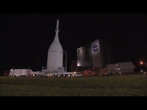 Orion Spacecraft Moves to Space Launch Complex 37