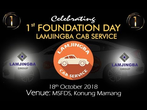 Lamjingba Cab Service  First Foundation Day   from MSFDS, Imphal