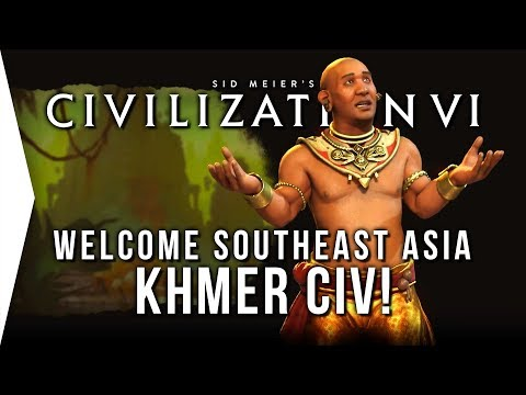 Civilization VI ► Khmer DLC - Overview, Analysis & Strategy! - [Civ 6 Fall Update]