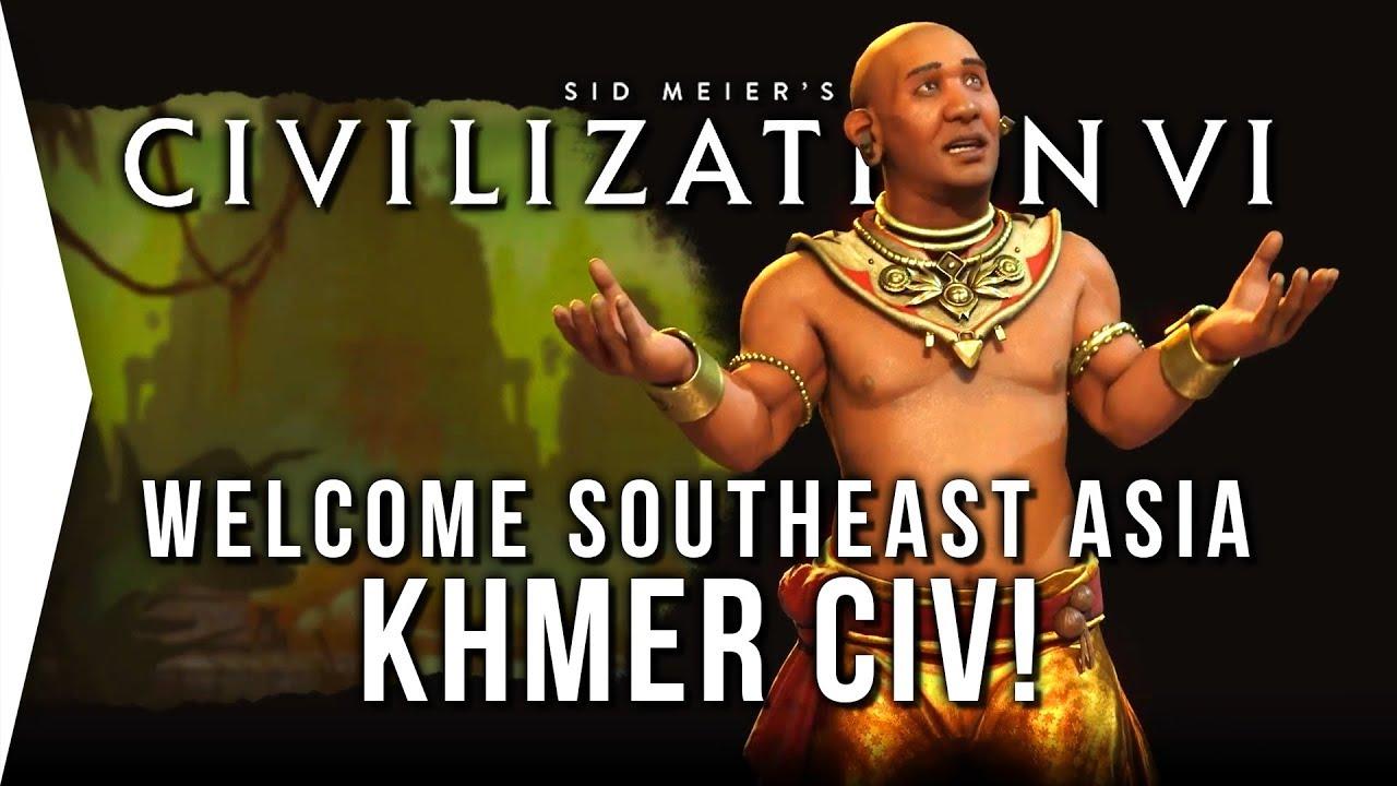 Civilization VI ► Khmer DLC - Overview, Analysis & Strategy! - [Civ 6 Fall  Update]
