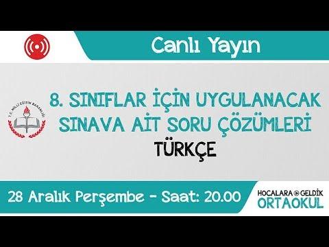 LGS (Liseye Geçiş Sınavı) Örnek Soru Çözümleri - Türkçe