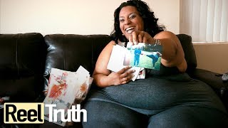 Mikel Ruffinelli - World's Biggest Hips | Extraordinary People Documentary | Documental
