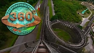 Heide Park Resort - Colossos OnRide 360° (Official)