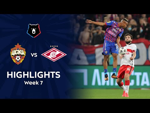 Highlights CSKA vs