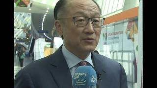 Interview with Jim Yong Kim, World Bank Group president at #AfDBAM2018